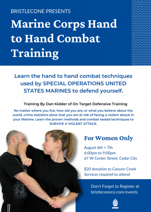 5x7 Defensive Training Poster